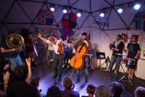 Mit Musik Grenzen überwinden  Palestine Youth Orchestra mit einzigem Deutschland-Konzert zu Besuch an der Hochschule für Künste Bremen @ Hochschule für Künste - Auditorium Speicher XI 8